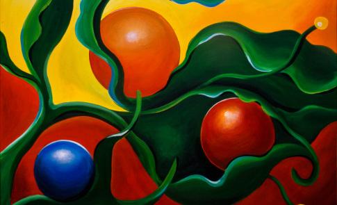 Malerei Petra Tänzer Acryllmischtechnik